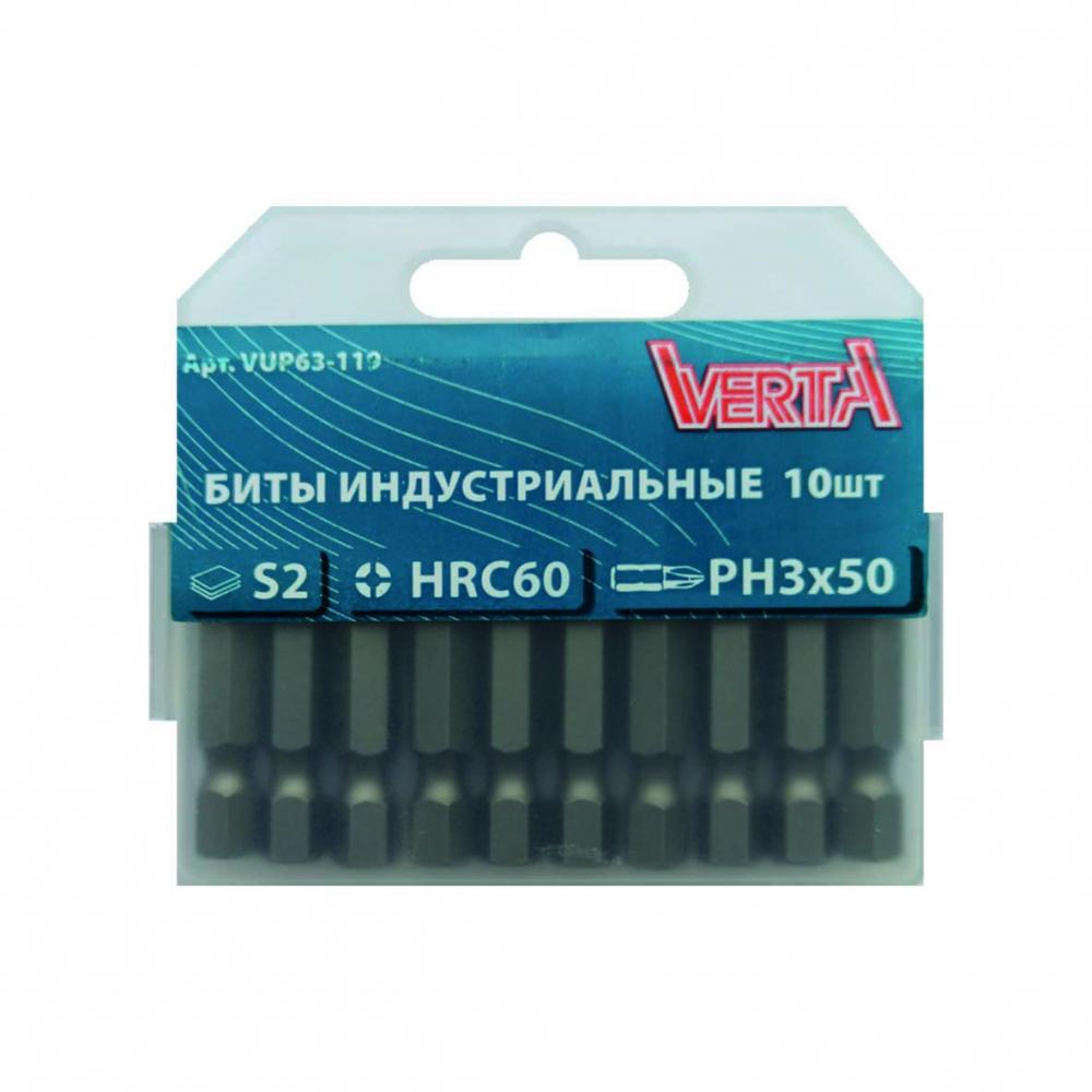 Купить Биты ultraprofi (10 шт; ph3; 50 мм) verta vup63-119