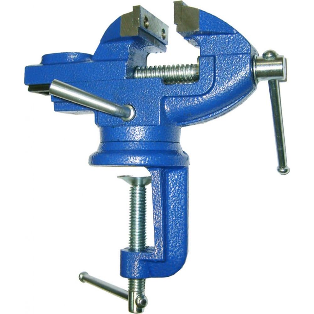 Купить Чугунные настольные мини тиски с наковальней skrab 50мм 25302