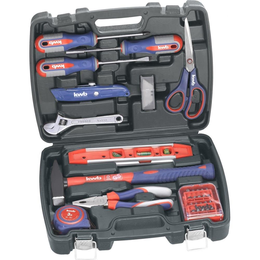 Набор ручного инструмента kwb 40 предметов 370720