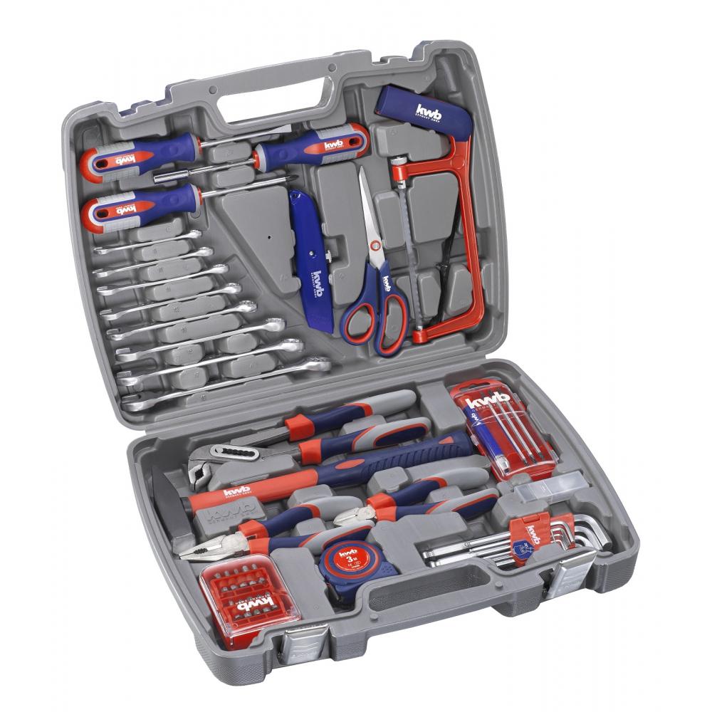 Набор ручного инструмента kwb 65 предметов 370730
