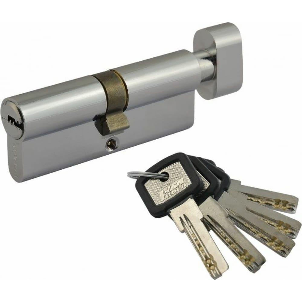 Купить Цилиндровый механизм нора-м лпув-80 40-40 хром х 5365