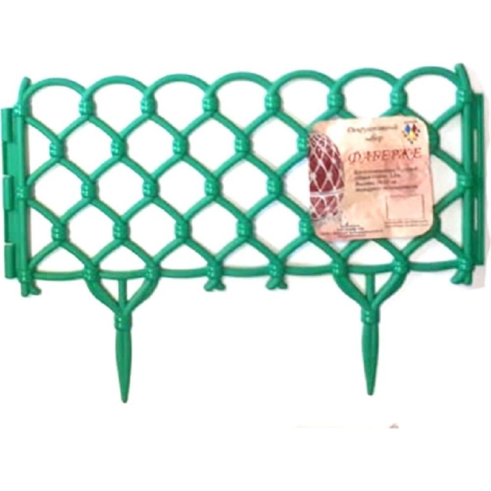 Купить Декоративный забор дачная мозаика фаберже светло-зеленый 15243