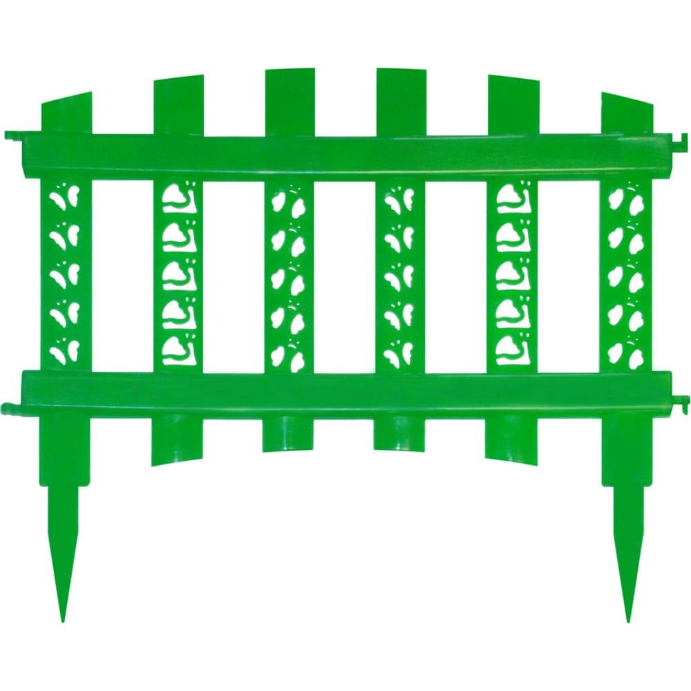Купить Декоративный заборчик дачная мозаика палисадник зеленый 10674