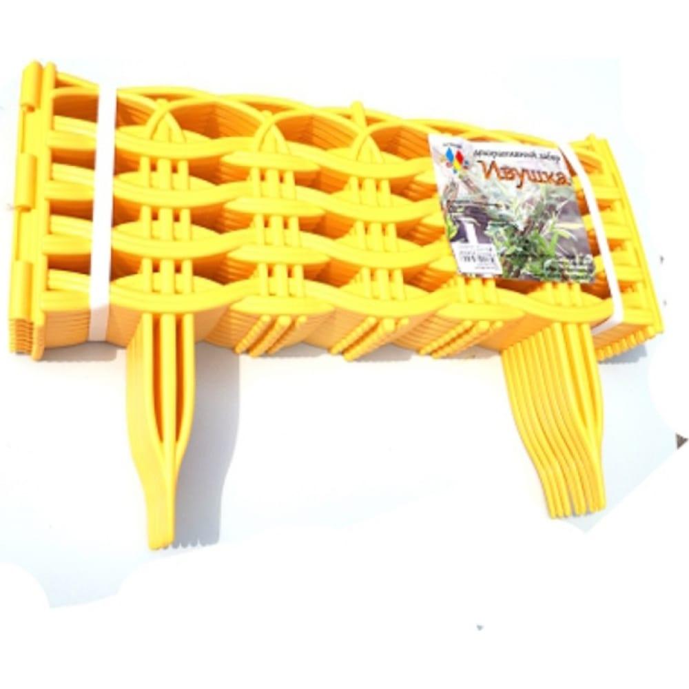 Купить Декоративный забор дачная мозаика ивушка светло-жёлтый 15017