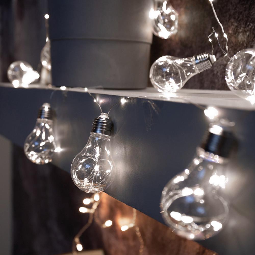 Светодиодная гирлянда neon night ретро лампы