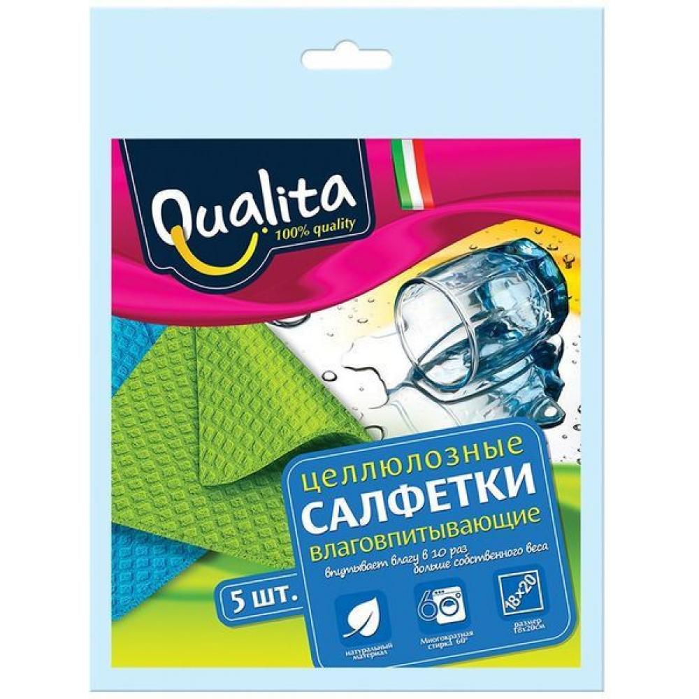 Влаговпитывающие салфетки qualita 5 шт 6508