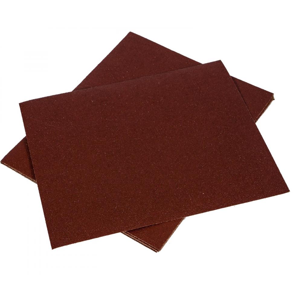 Шкурка шлифовальная водостойкая на тканевой основе (5 шт; 230х280 мм; зернистость 80) grossmeister 011004080