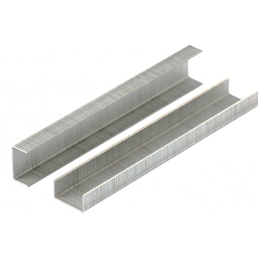 Скобы для мебельного степлера denzel 6 мм, тип 53, 2000 шт. 41100
