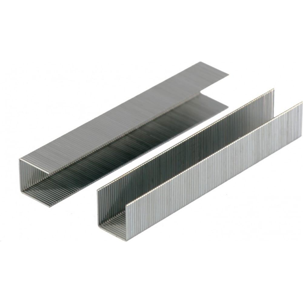 Скобы для мебельного степлера denzel 12 мм, тип 53, 2000 шт. 41103