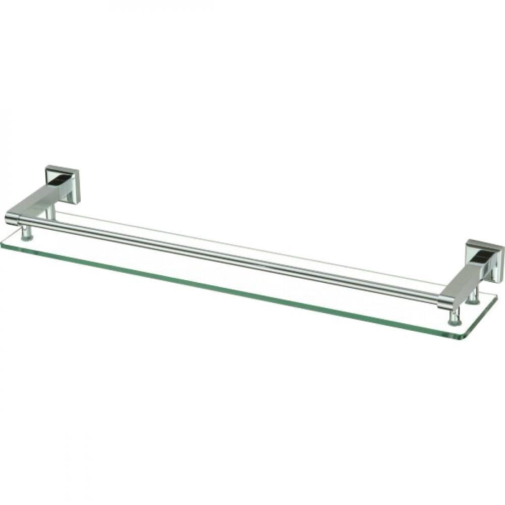 Купить Прямая стеклянная полка savol 60 см, хром s-609591 23172