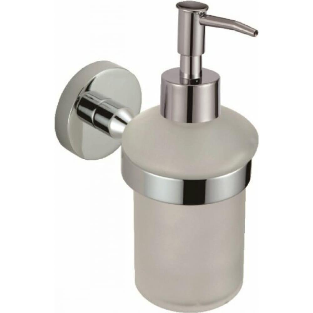 Купить Дозатор для жидкого мыла с держателем savol хром s-008731 23276