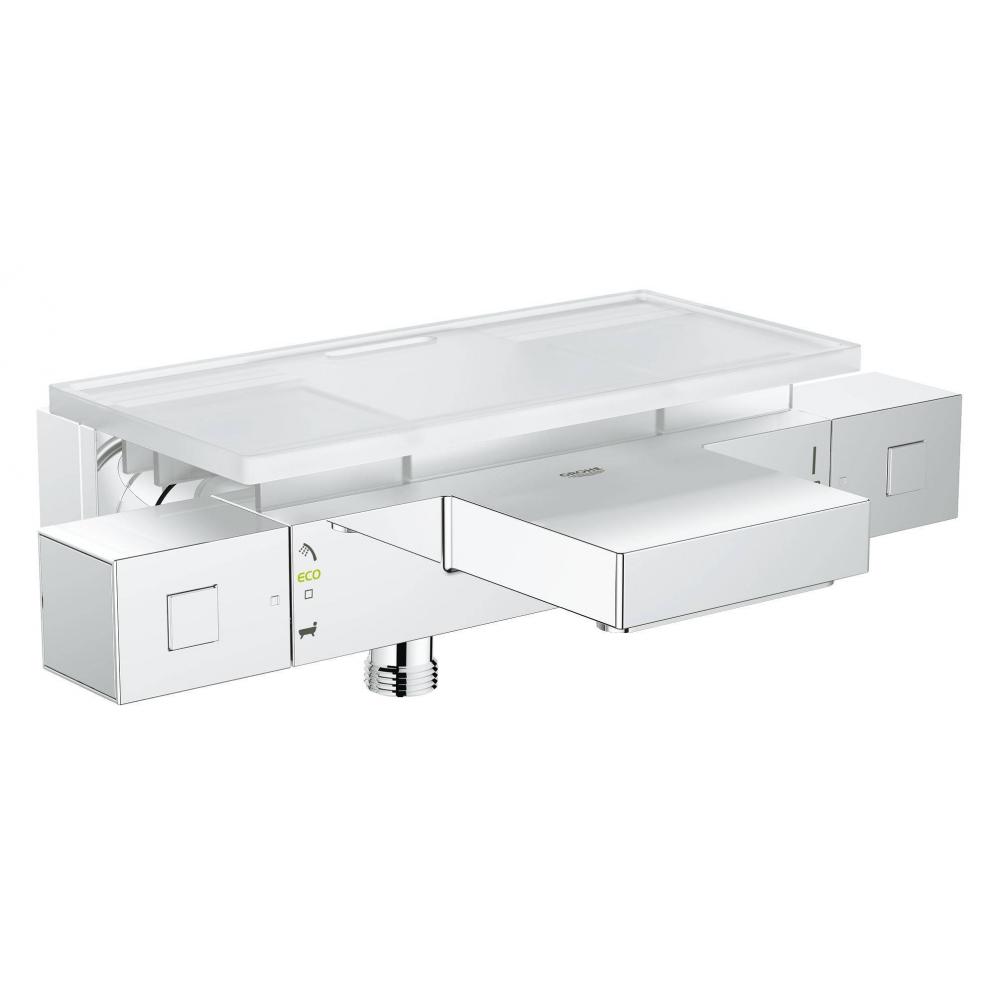 Термостат для ванны grohe grohtherm cube с полочкой 34502000