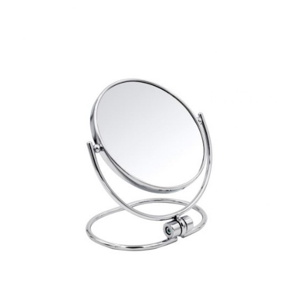 Купить Косметическое зеркало ridder настольное merida 1х/3х-увеличение хром о3101100