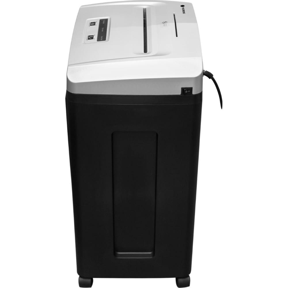 Уничтожитель документов гелеос din p-7, фрагмент 0,8х2мм, 6-7 лист70г/м2, cd/пластиковые карты, 23 литра уп21-7