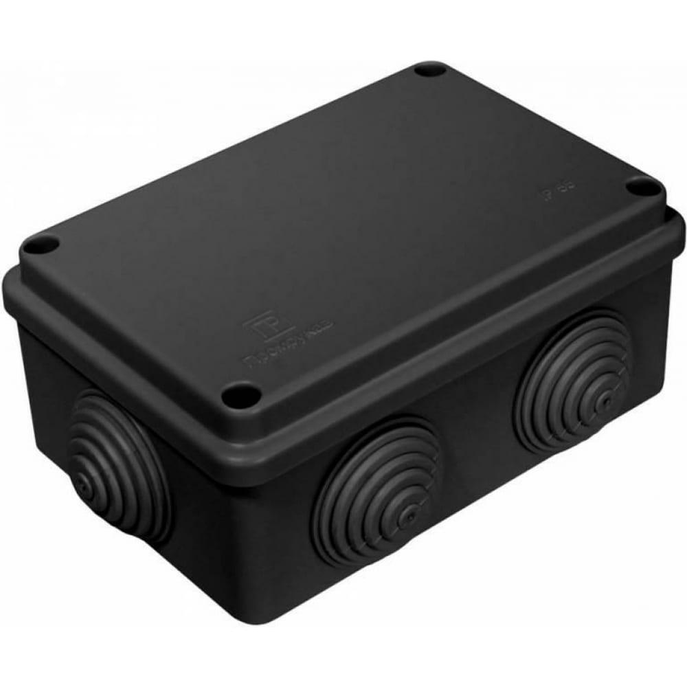 Купить Распределительная коробка промрукав для о/п безгалогенная hf черная 120х80х50 40-0340-9005
