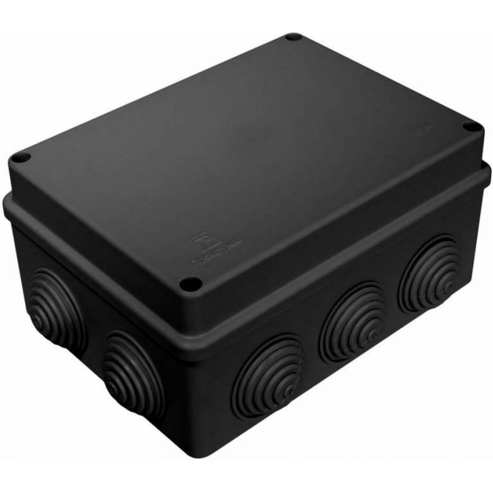 Купить Распределительная коробка промрукав для о/п безгалогенная hf черная 150х110х70 40-0310-9005