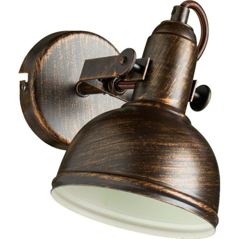 Настенный светильник arte lamp a5213ap-1br