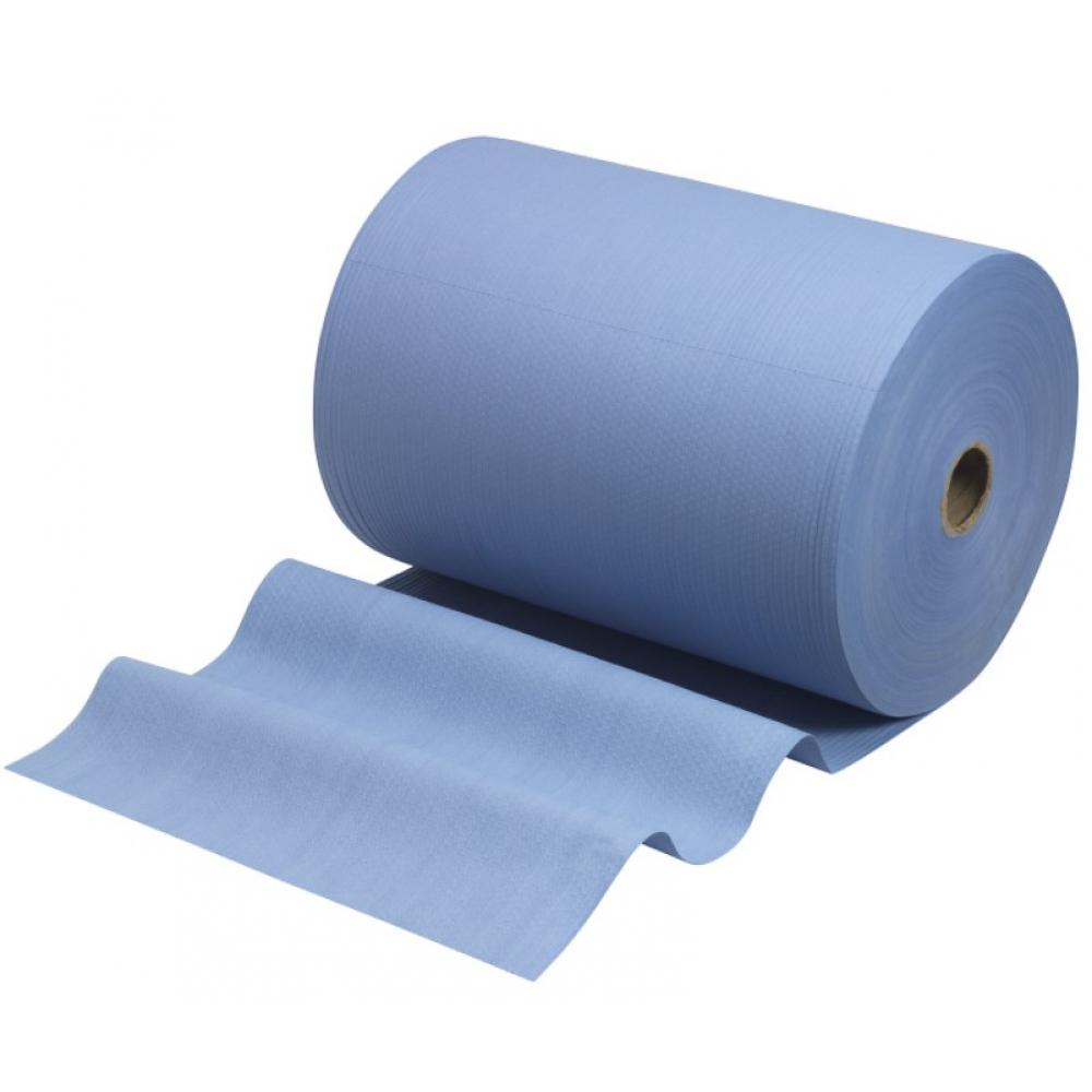 Протирочный материал wypall большой рулон голубой синий