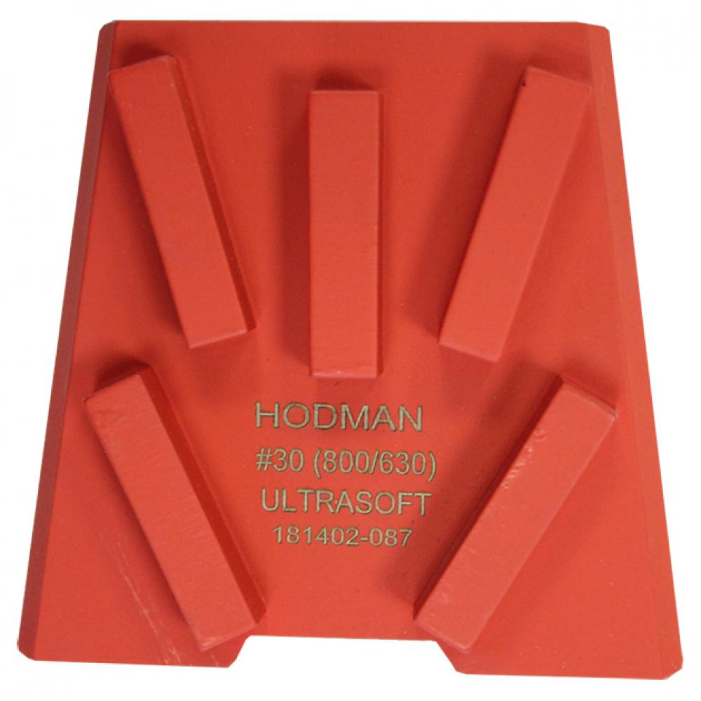 Купить Франкфурт алмазный шлифовальный (30us; 800/630 мкм; 5 сегментов) для сверхтвердого бетона hodman 00-00002436