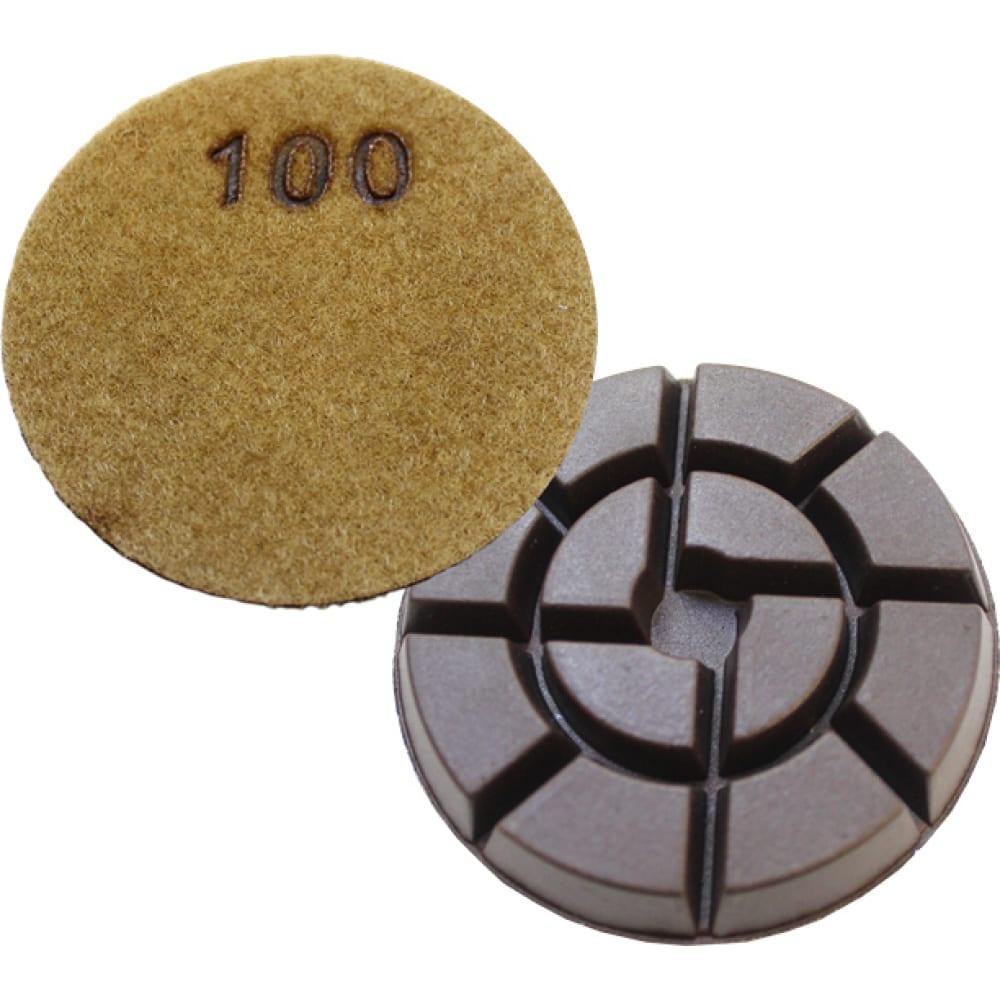 Купить Пад алмазный полировальный professional wp (80х12 мм; зернистость 100) hodman м0000000609