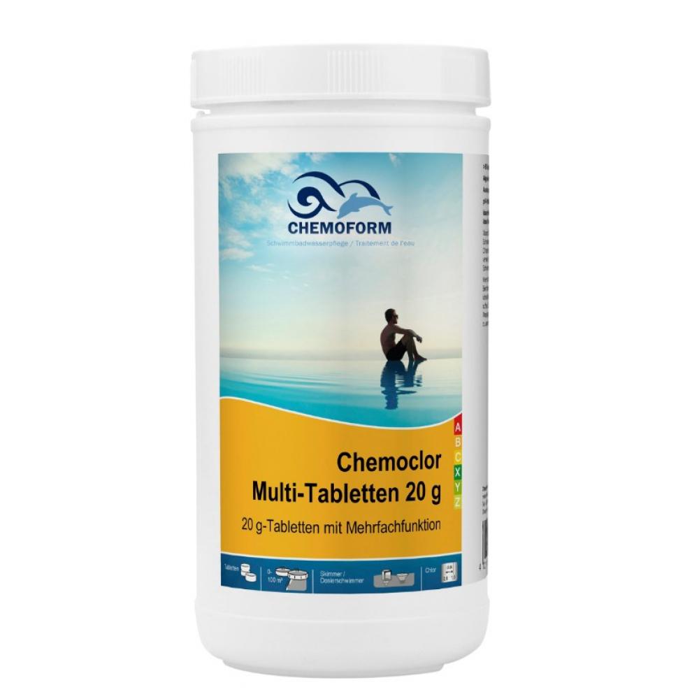 Мульти-таблетки chemoform медленно растворимые 20 г, 1 кг 508001
