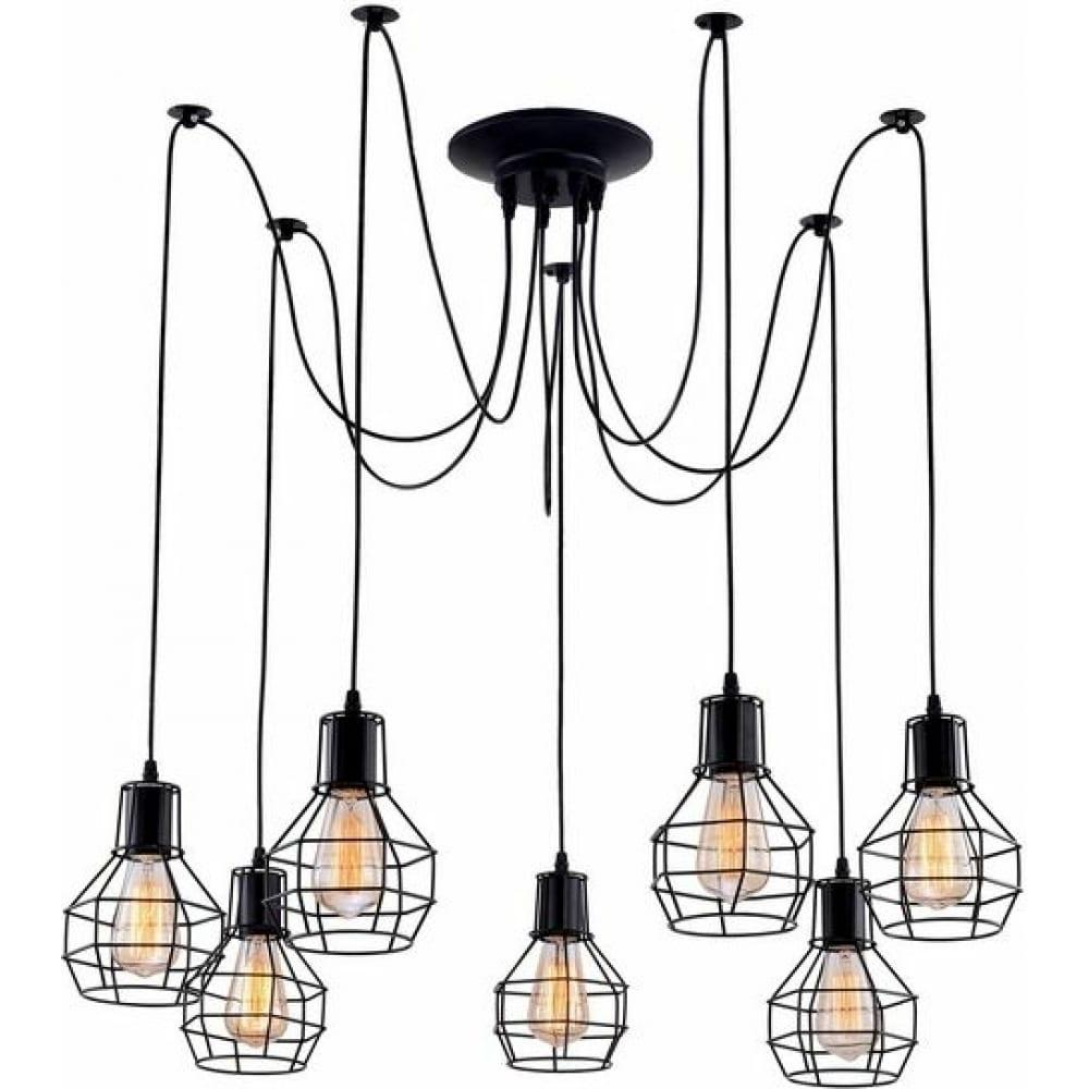 Подвесной светильник arte lamp a1109sp-7bk