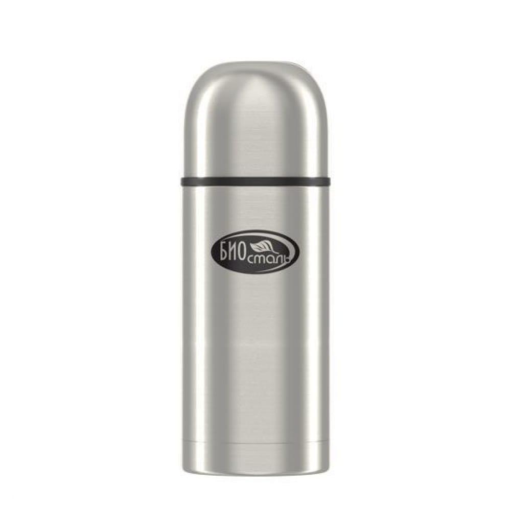 Термос biostal 0.5 литра, пробка с ситечком, стальной nb-500z