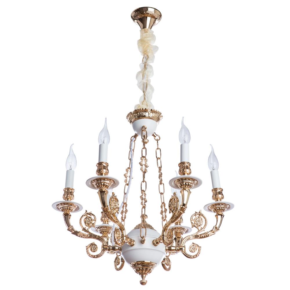 Подвесной светильник arte lamp a7024lm-6wg