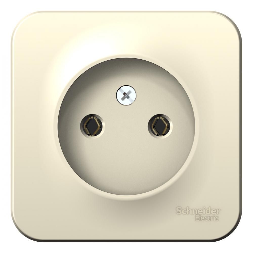 Купить Розетка schneider electric blanca без заземления, без шторок, молочный blnra000102