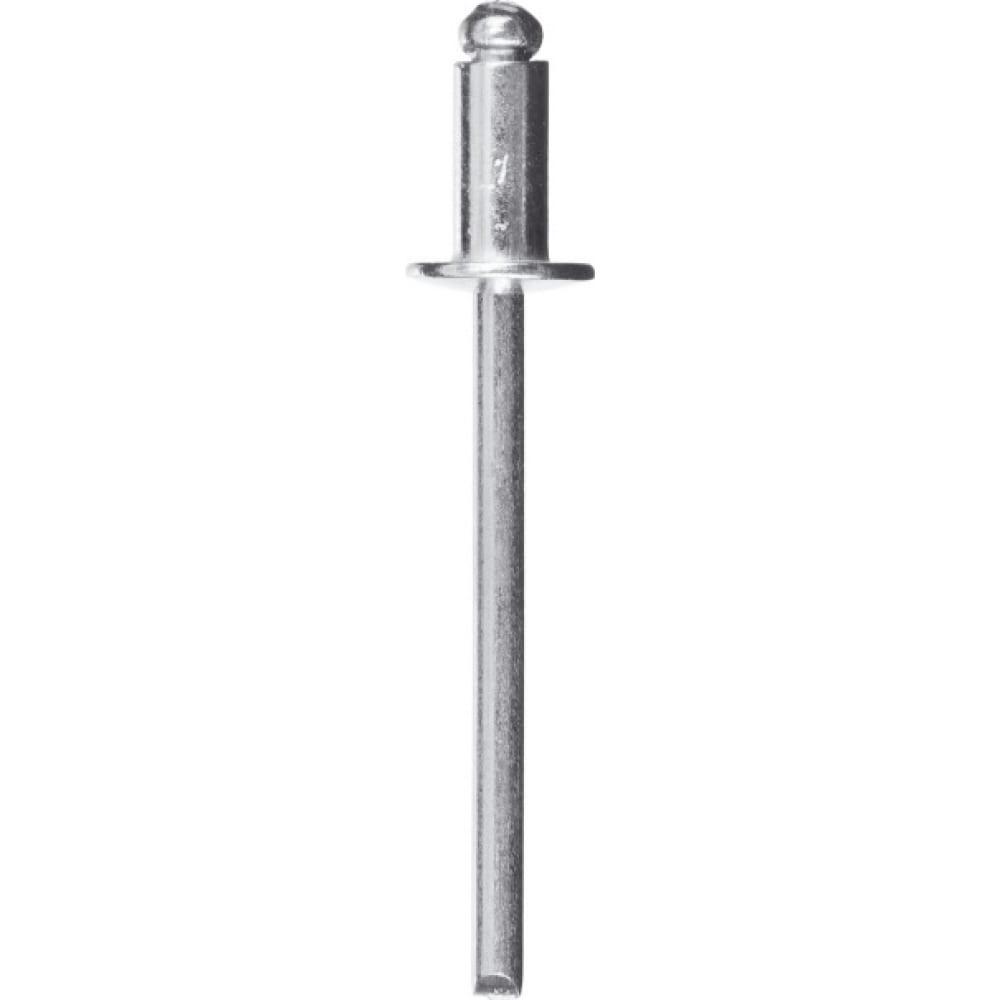 Купить Алюминиевые заклепки зубр профессионал 4.0х12 мм, 50 шт. 313106-40-12