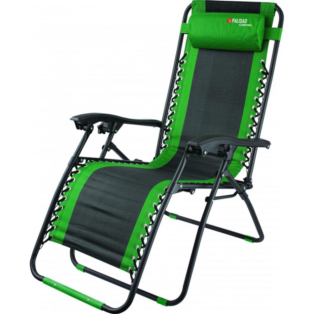 Купить Многопозиционное складное кресло-шезлонг palisad camping 160х63.5х109cм 69606