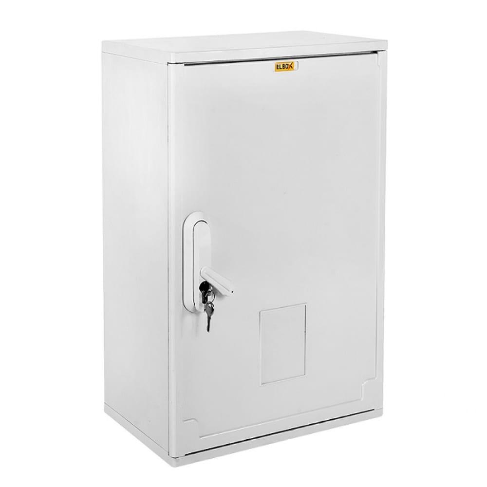 Электротехнический настенный шкаф цмо сплошная дверь полиэстер серый ep-400.400.250-1-ip44