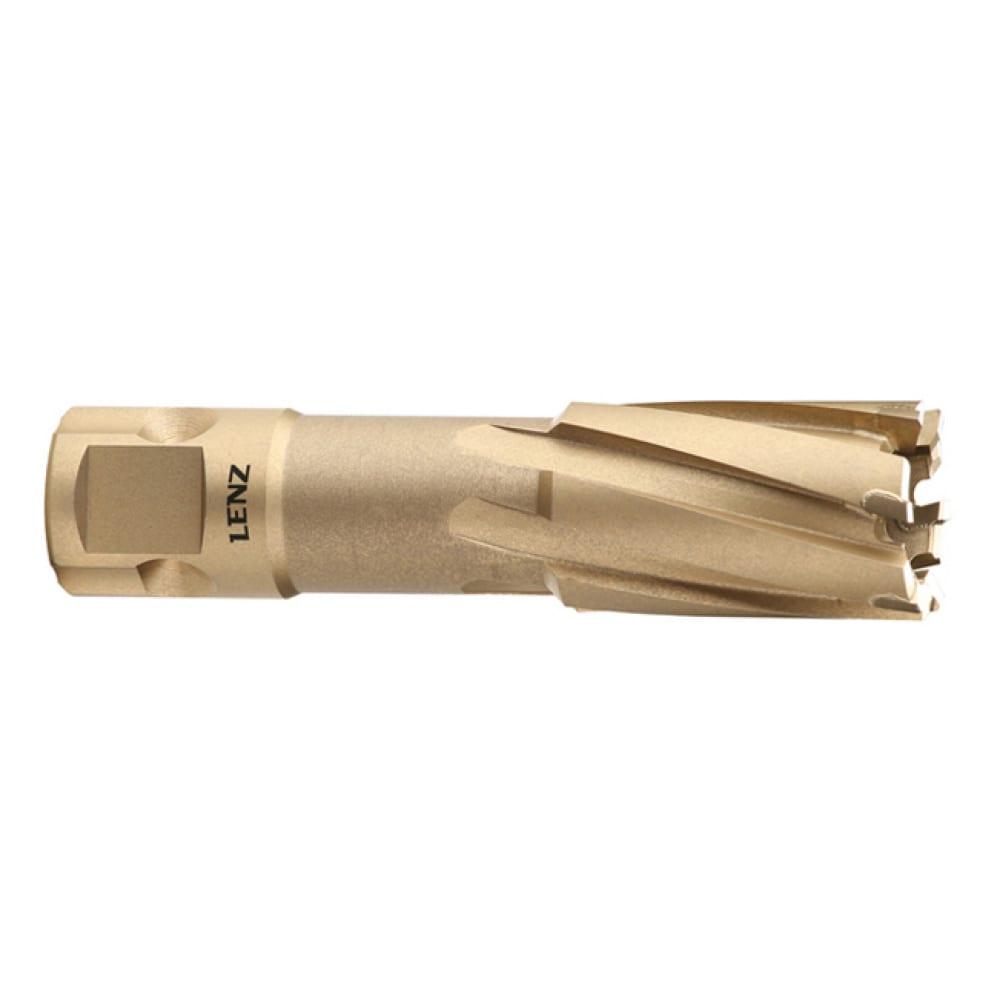 Купить Сверло корончатое (48х55 мм; weldon 19) lenz lztm-048