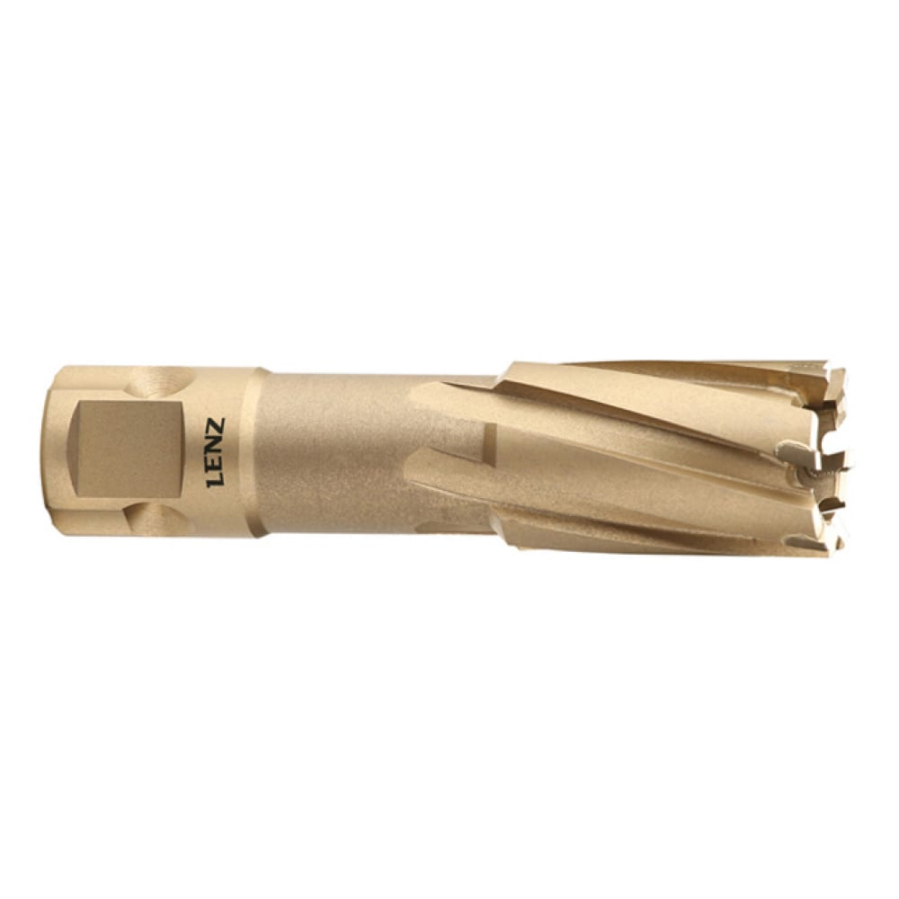 Купить Сверло корончатое (63х55 мм; weldon 19) lenz lztm-063