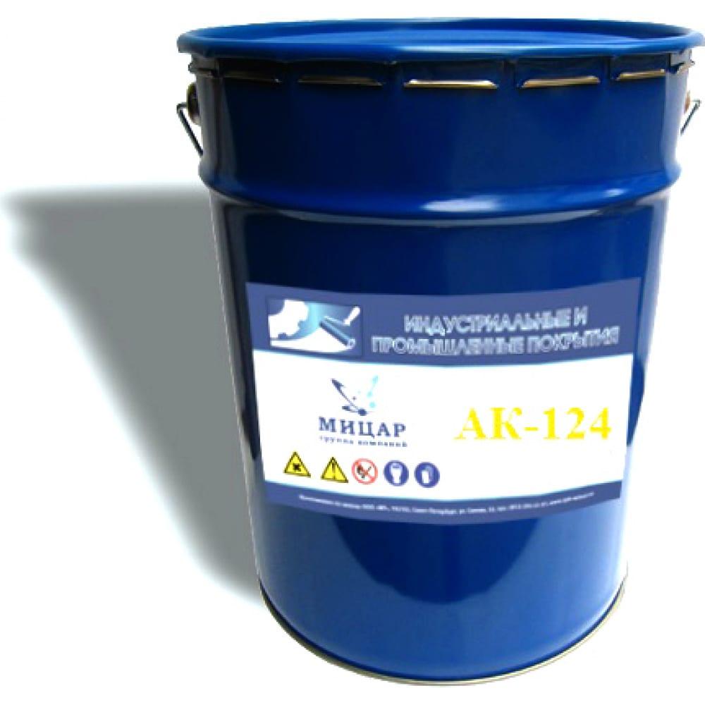 Купить Фасадная краска мицар ак-124 25 кг серая ут000004952