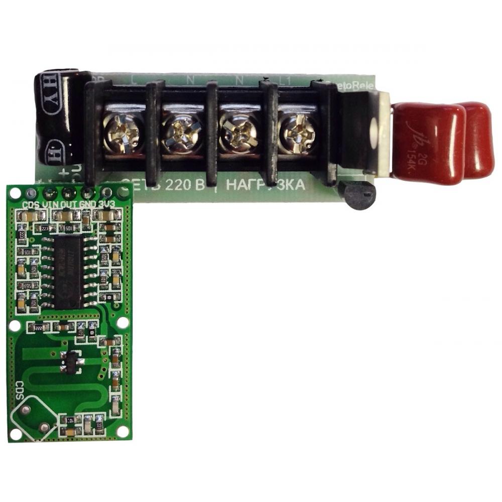 Регулятор освещения нтк электроника дд-11, движения микроволновый, 220в/1а, 4627082402735