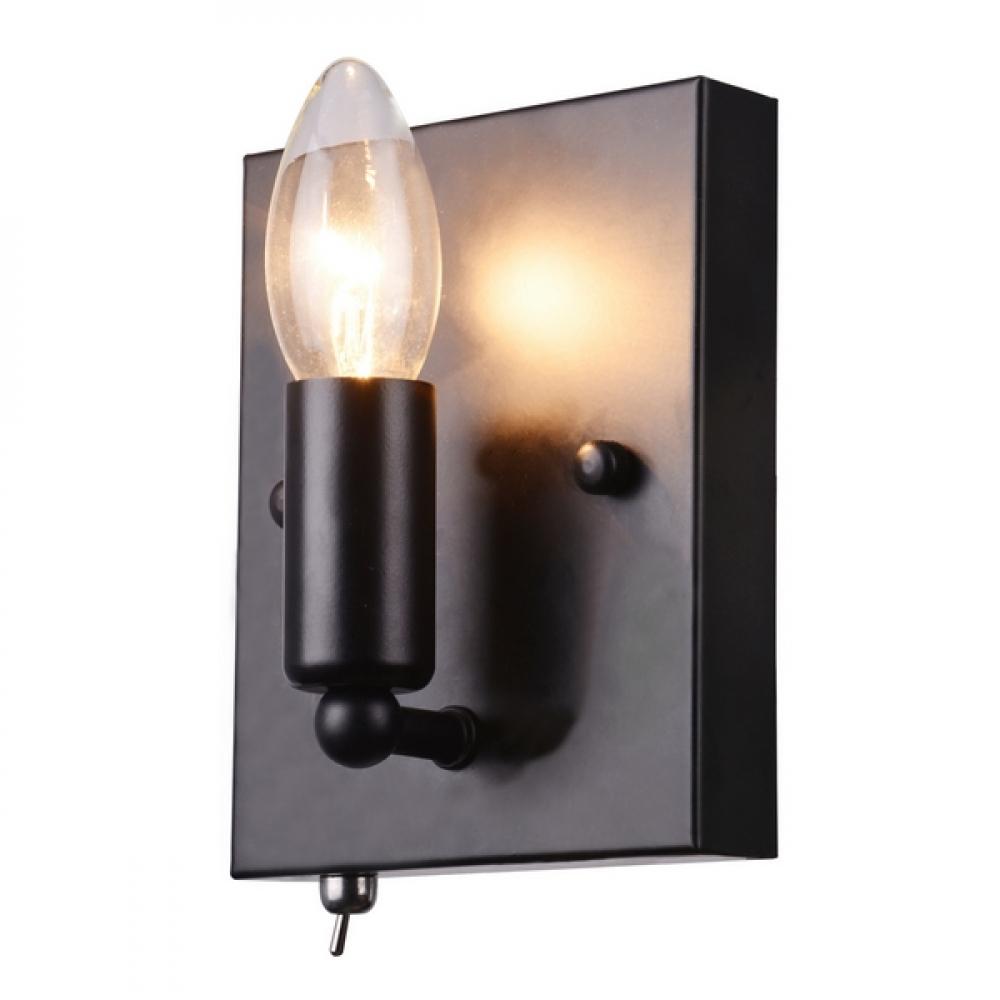 Купить Настенный светильник arte lamp a8811ap-1bk