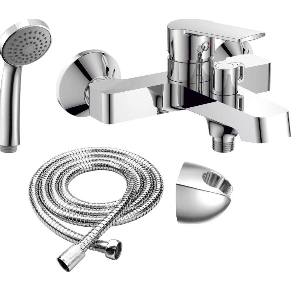 Купить Смеситель для ванны rush balearic короткий излив, хром ba3935-44