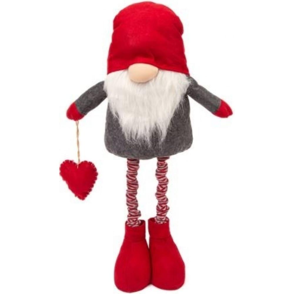 Купить Фигурка гном winter glade красный/серый m61