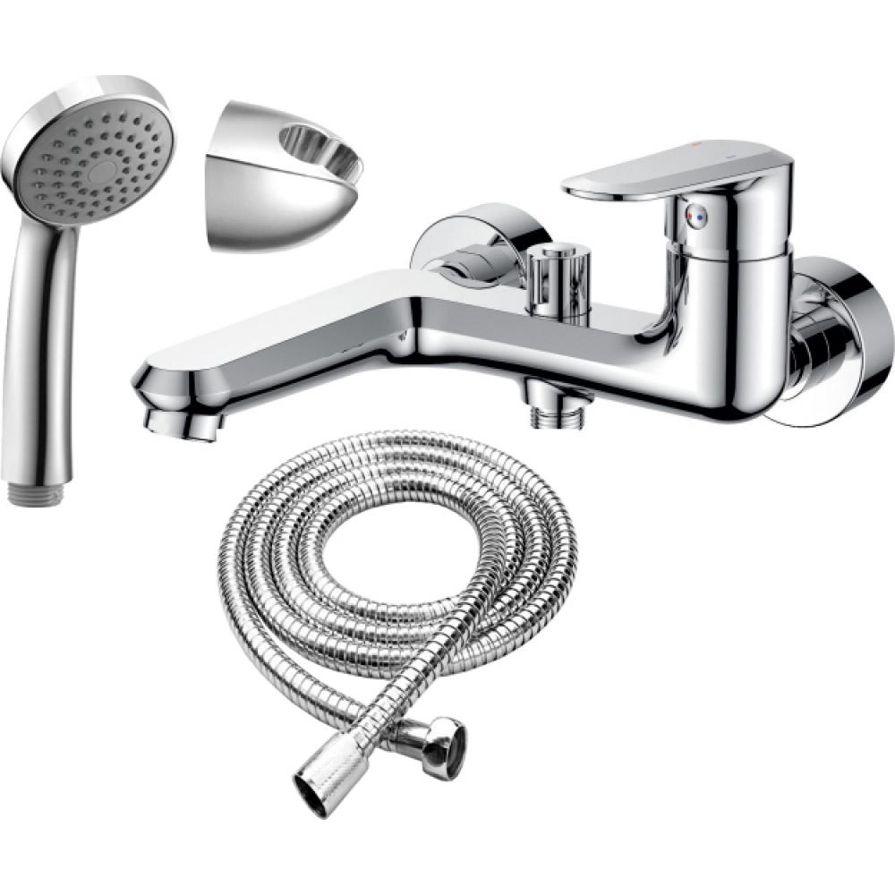 Купить Смеситель для ванны rush devon короткий излив, хром de7535-44