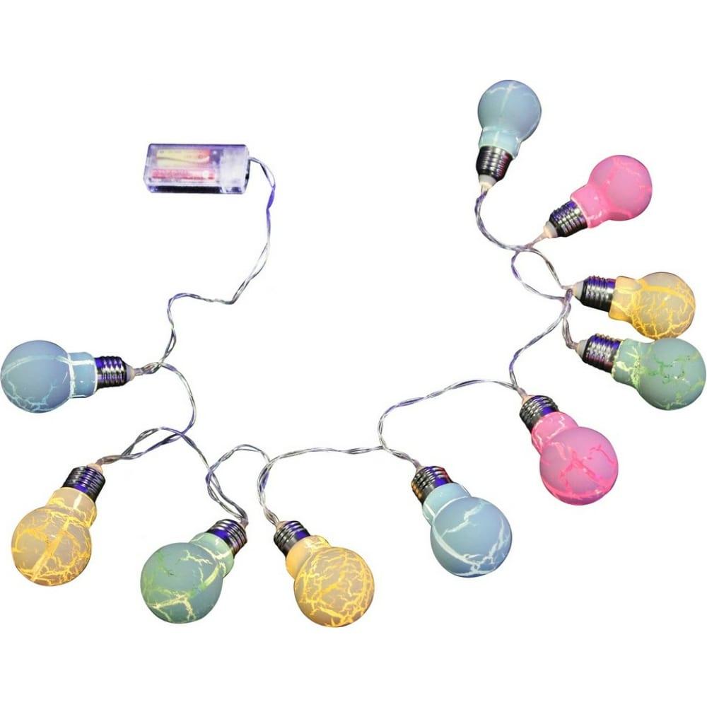 Гирлянда лампочки shlights 1,4 метра 10 светодиодов,