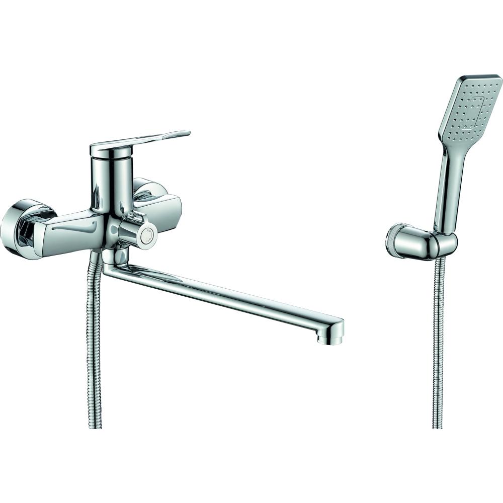 Купить Одноручный смеситель для ванны rush socotra с поворотным изливом, хром st1235-51