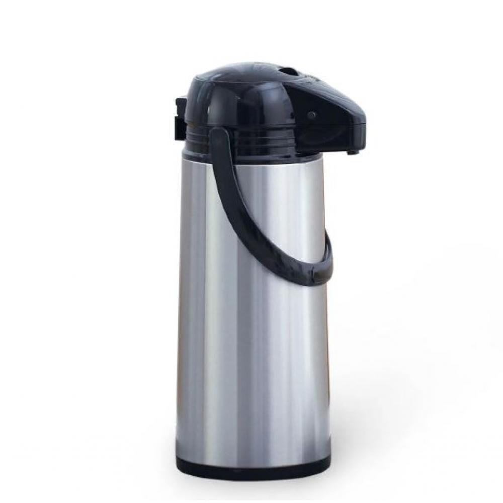 Купить Пластиковый термос со стеклянной колбой kamille 1900мл, чёрный/серебро 2026