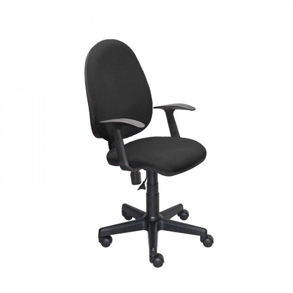 Купить Кресло easy chair upechair 325 pc ткань черная с11, пластик 754091