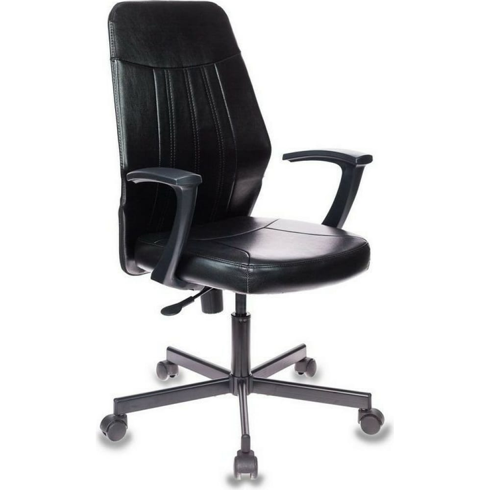 Купить Кресло easy chair vbechair-224 ppu кожзам черный, металл 794290