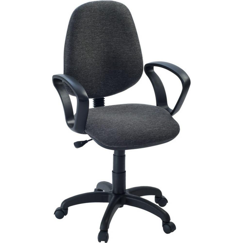 Купить Кресло easy chair faechair-322 pc ткань серая тк3, пластик 622258
