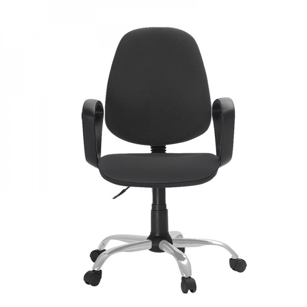 Купить Кресло easy chair faechair-222 pc ткань серая тк3, silver 622254