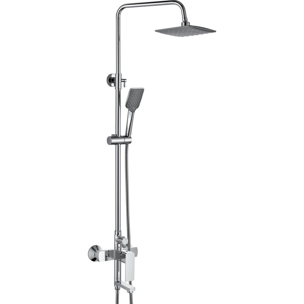 Купить Тропическая душевая система со смесителем для ванны rush с поворотным изливом, хром st4235-30