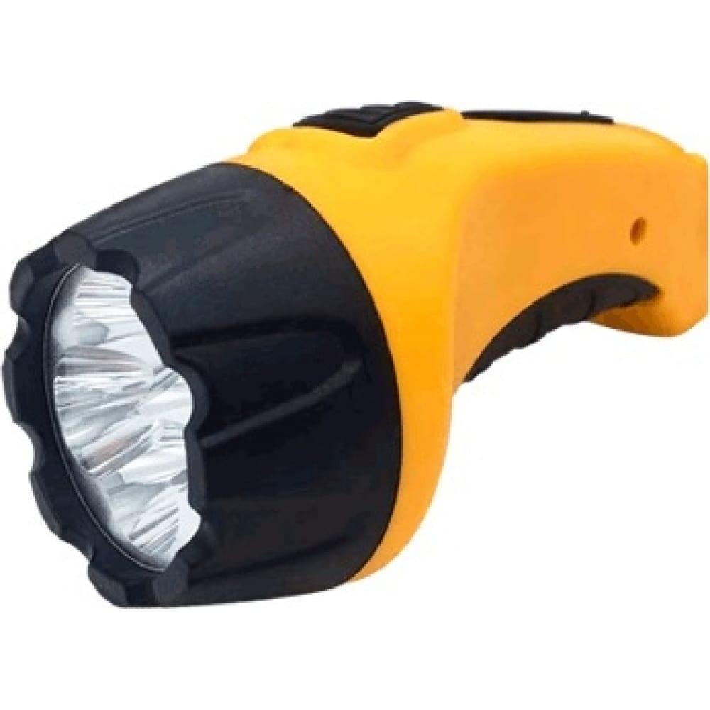Купить Ручной аккумуляторный фонарь in home mla 02, 4led, 120lm, 8ч, 2 режима, з/у 230в, черно-желтый 4690612031767