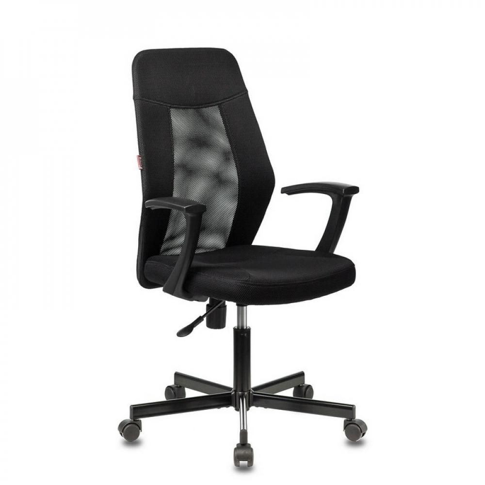Купить Кресло easy chair vbechair-225 ptwtw11 сетка/ткань черный 1094258